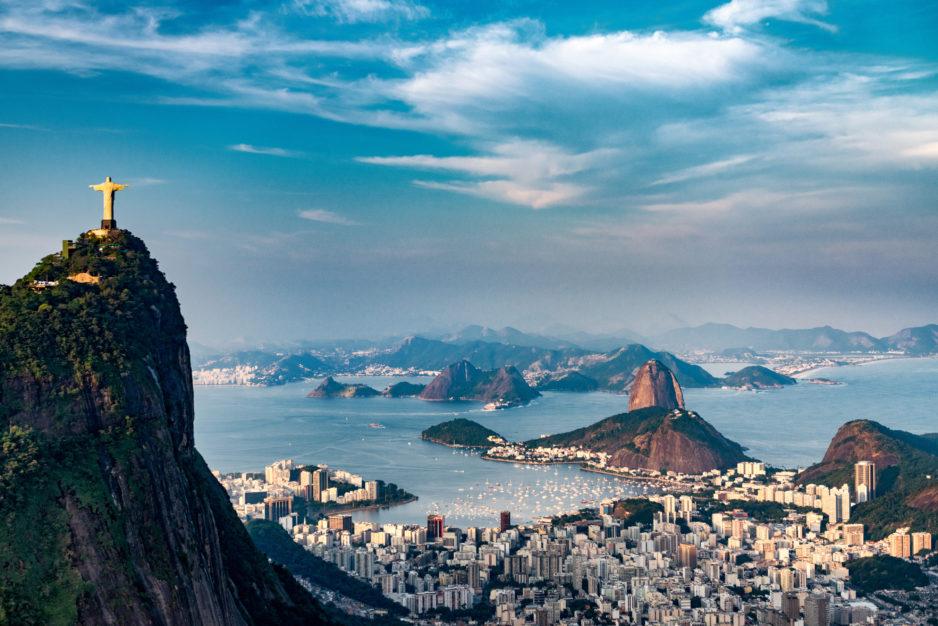 Brazil Rio Christ Mountain