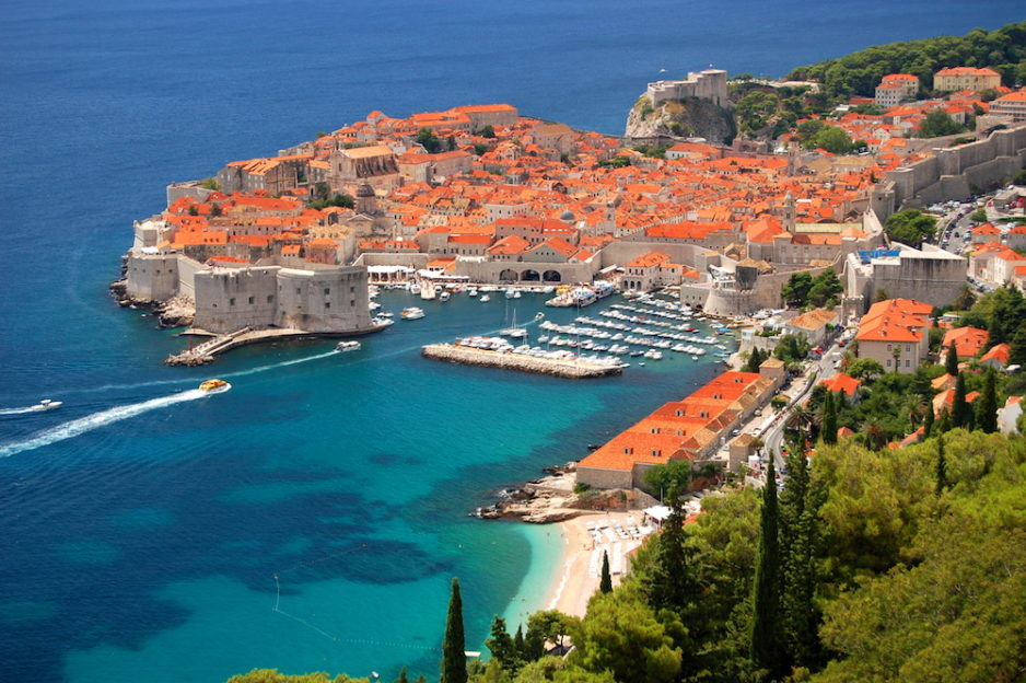 Croatia Old town Dubrovnik