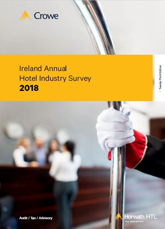 Crowe releases 2018 Irish Hotel Industry Survey