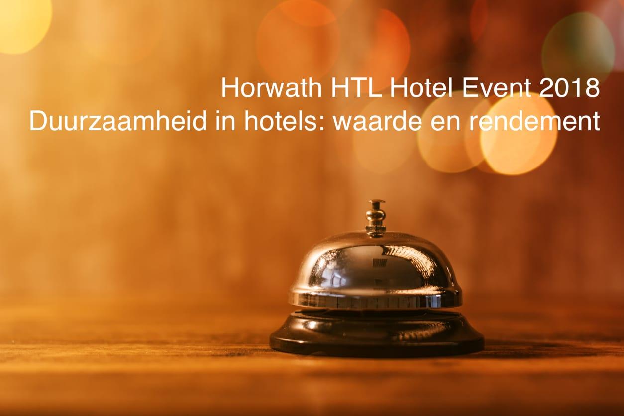 HOSTA 2018 rapport Recordwinsten voor Nederlandse hotels