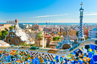 Spain Barcelona Park Guell 1