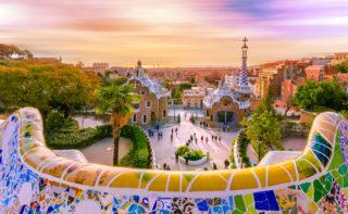 Spain Barcelona Park Guell 2