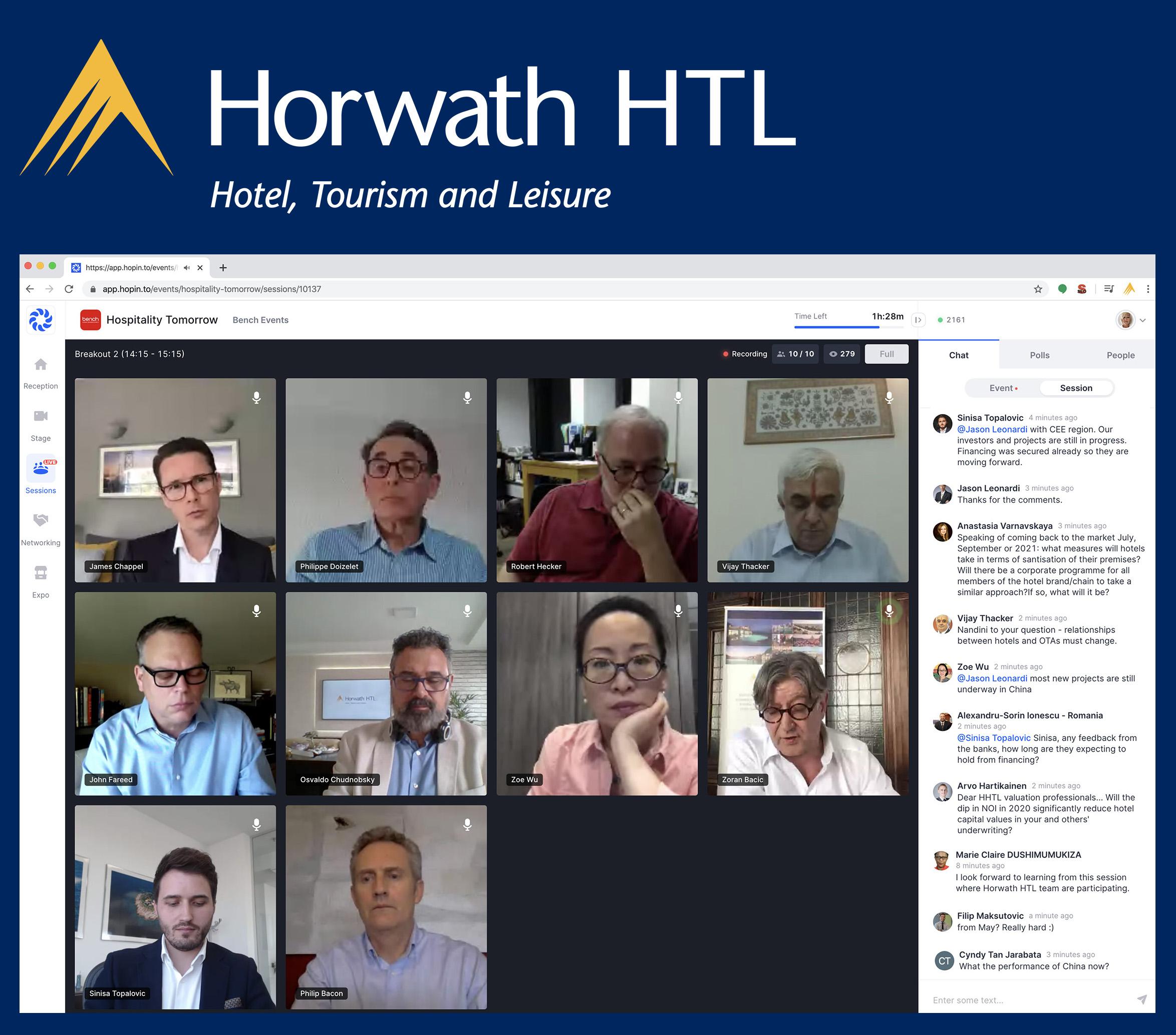 Horwath HTL Join Online Hospitality Event