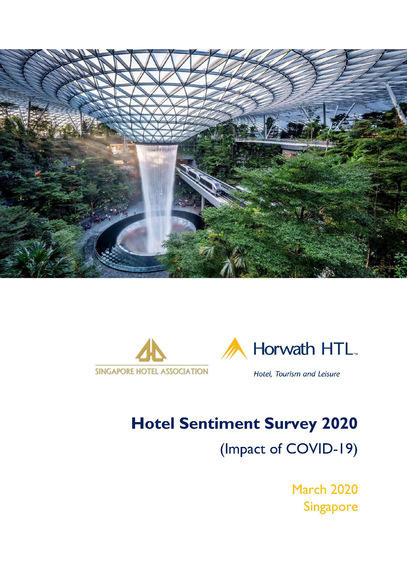 Hotel Sentiment Survey Singapore Mar 2020 1