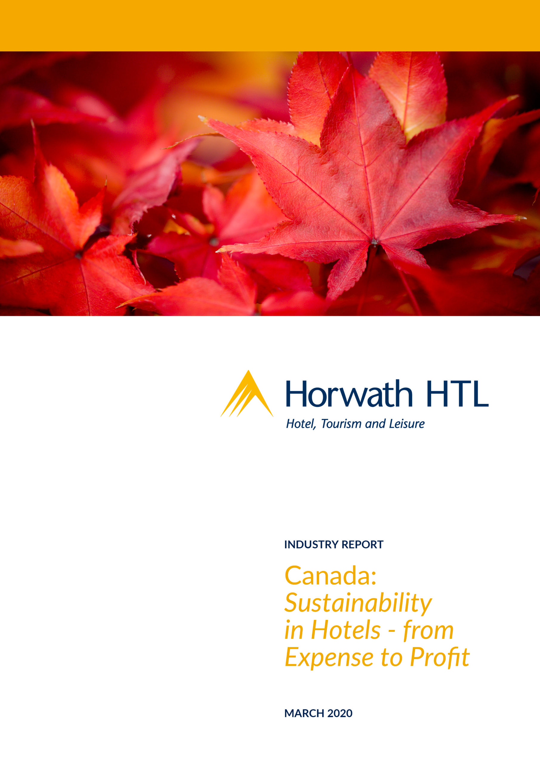 IR Canada Sustainability in Hotels