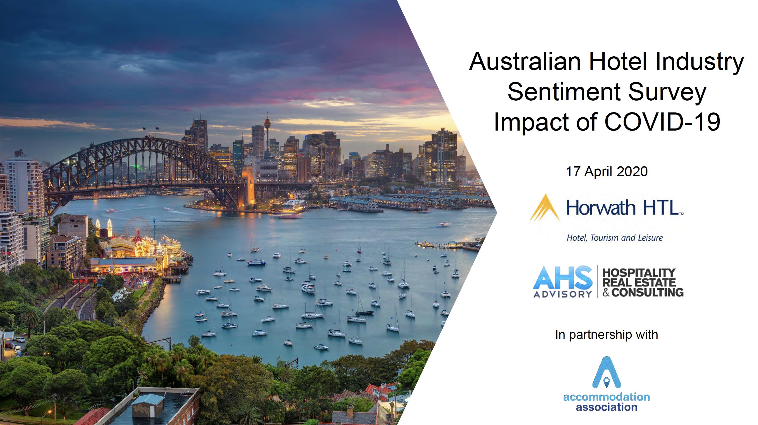 Sentiment Survey Australia Hotels Covid Impact