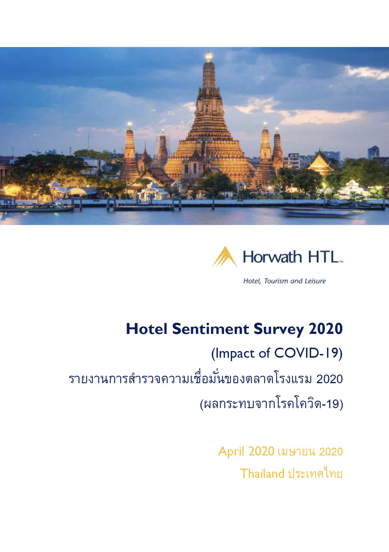 THAILAND Hotel Sentiment Survey