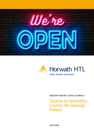 Industry Report Tourism Hospitality Industry Re Openings