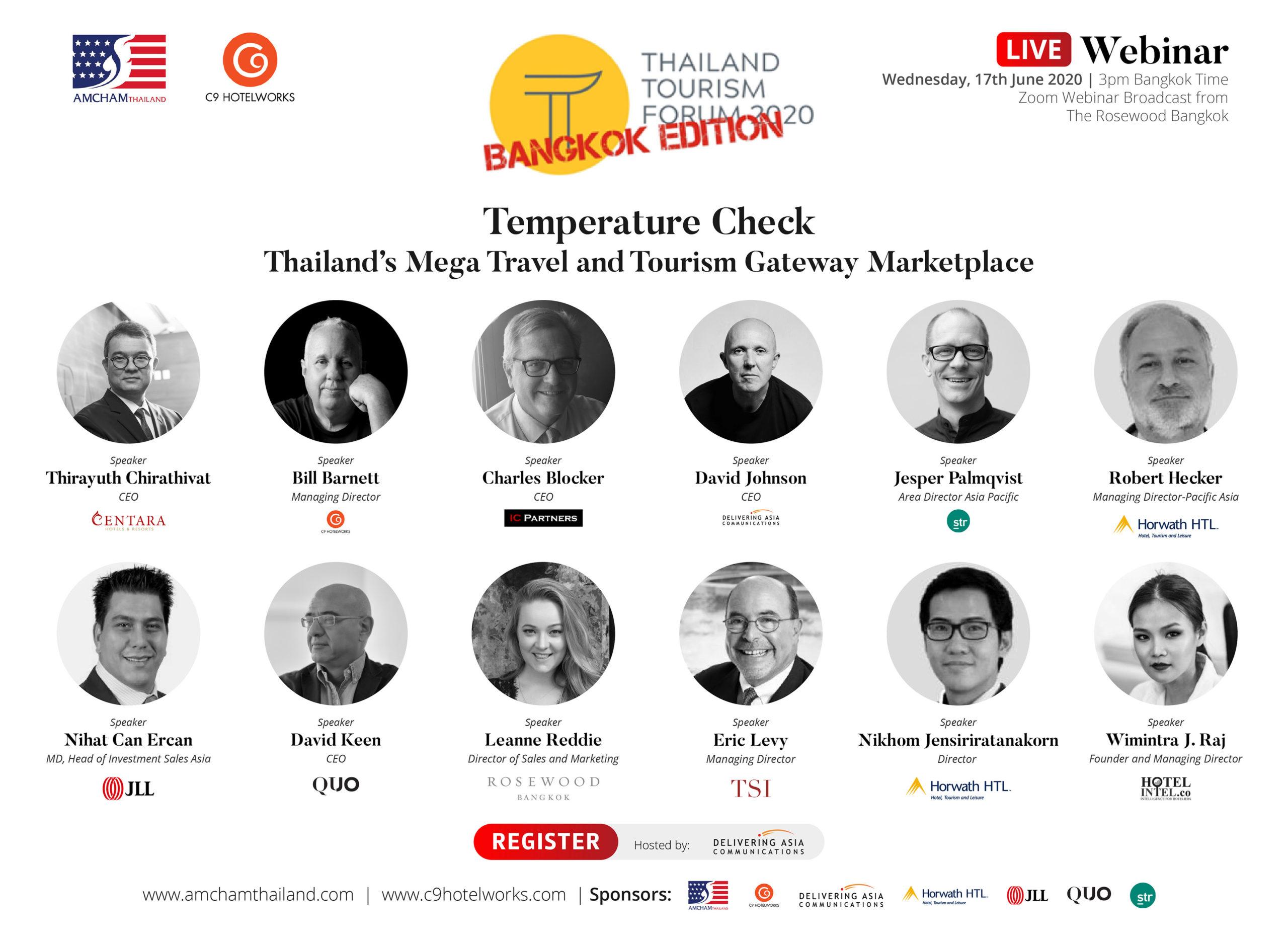 Join Horwath HTL at the Thailand Tourism Forum Webinar, Wed 17 June.
