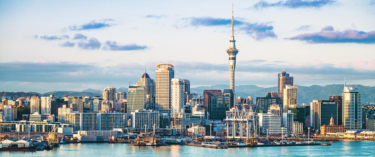 NZ Auckland City skyline