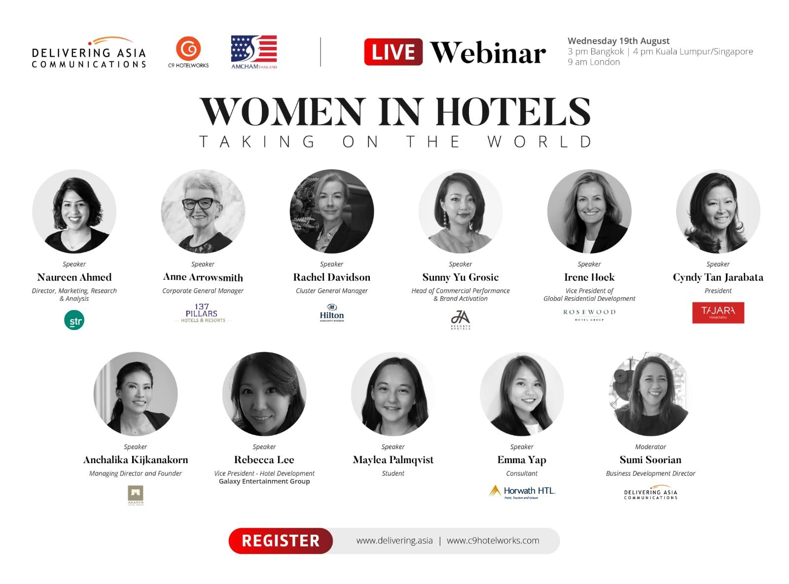 Women in Hotels – Taking on the World