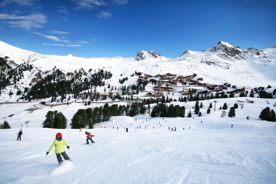 France La Plagne Winter Snow