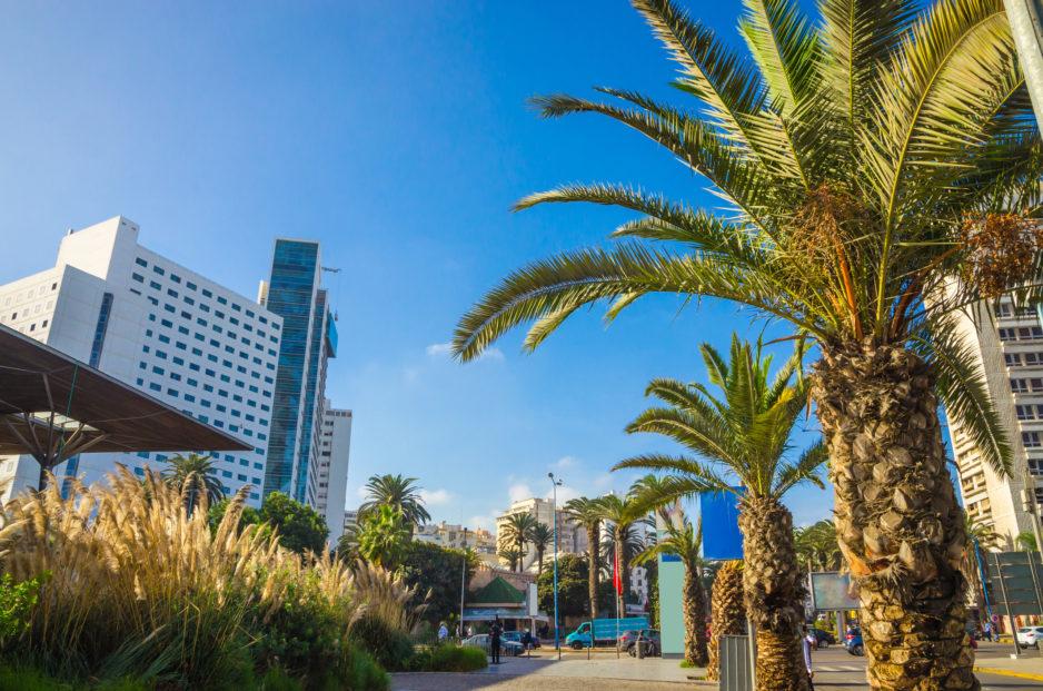 Morocco Casablanca Downtown
