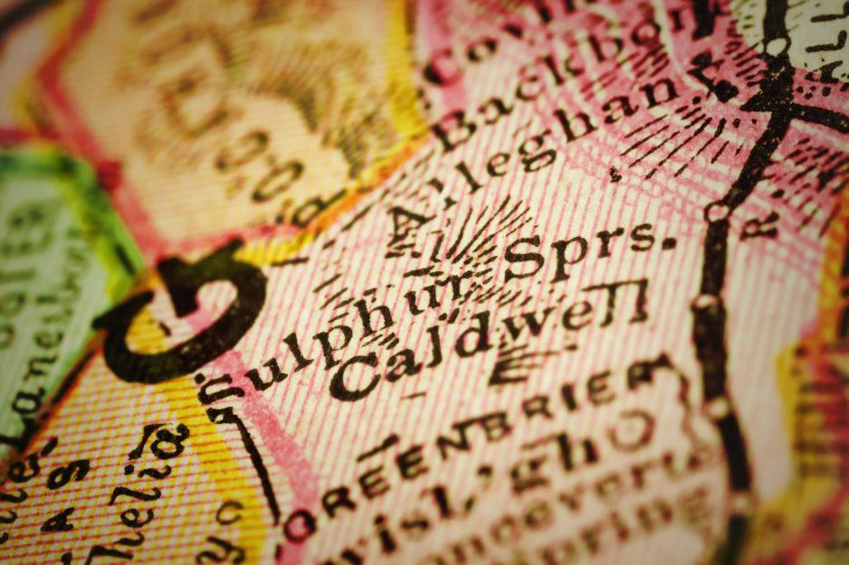 US W.Virginia White Sulphur Springs