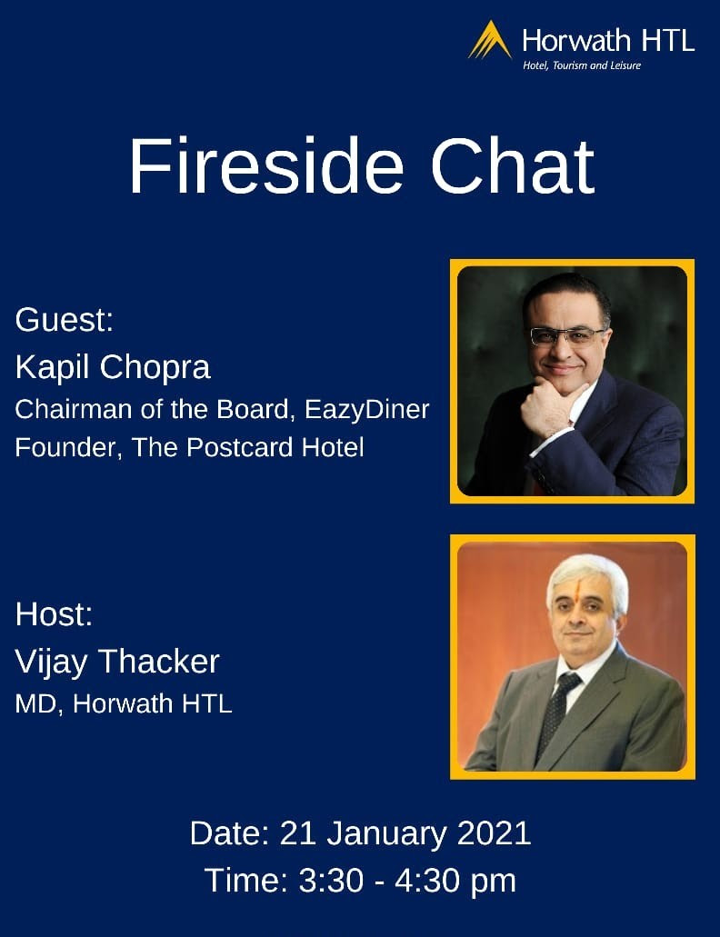 Horwath HTL India: A Fireside Chat with Kapil Chopra