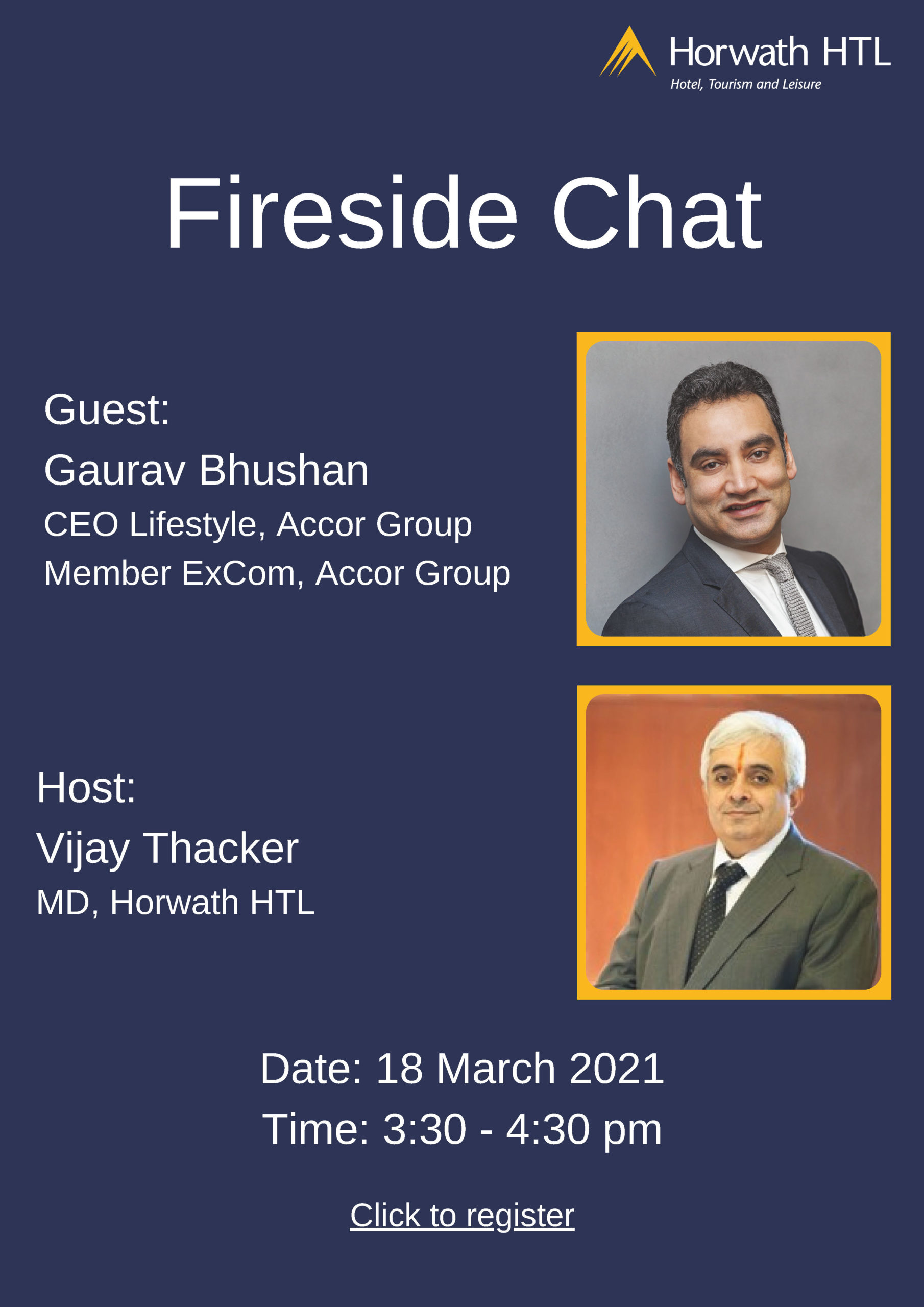 Horwath HTL India: A Fireside Chat with Gaurav Bhushan