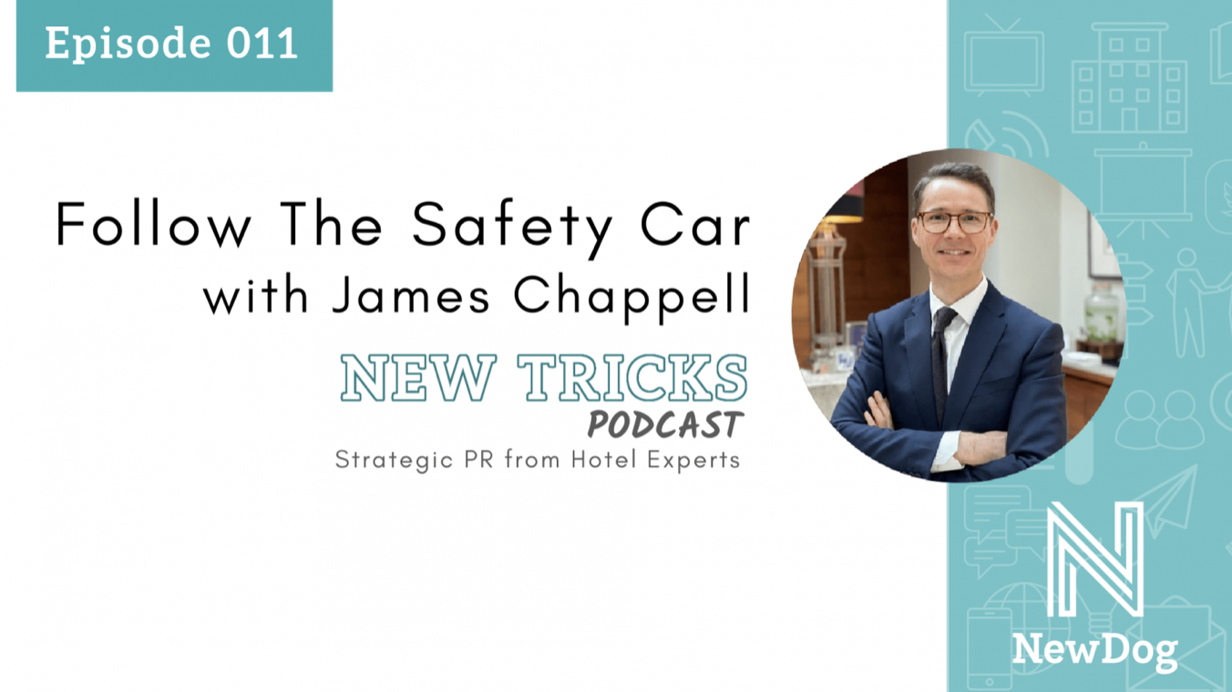 Follow the Safety Car with James Chappell & NewDog PR