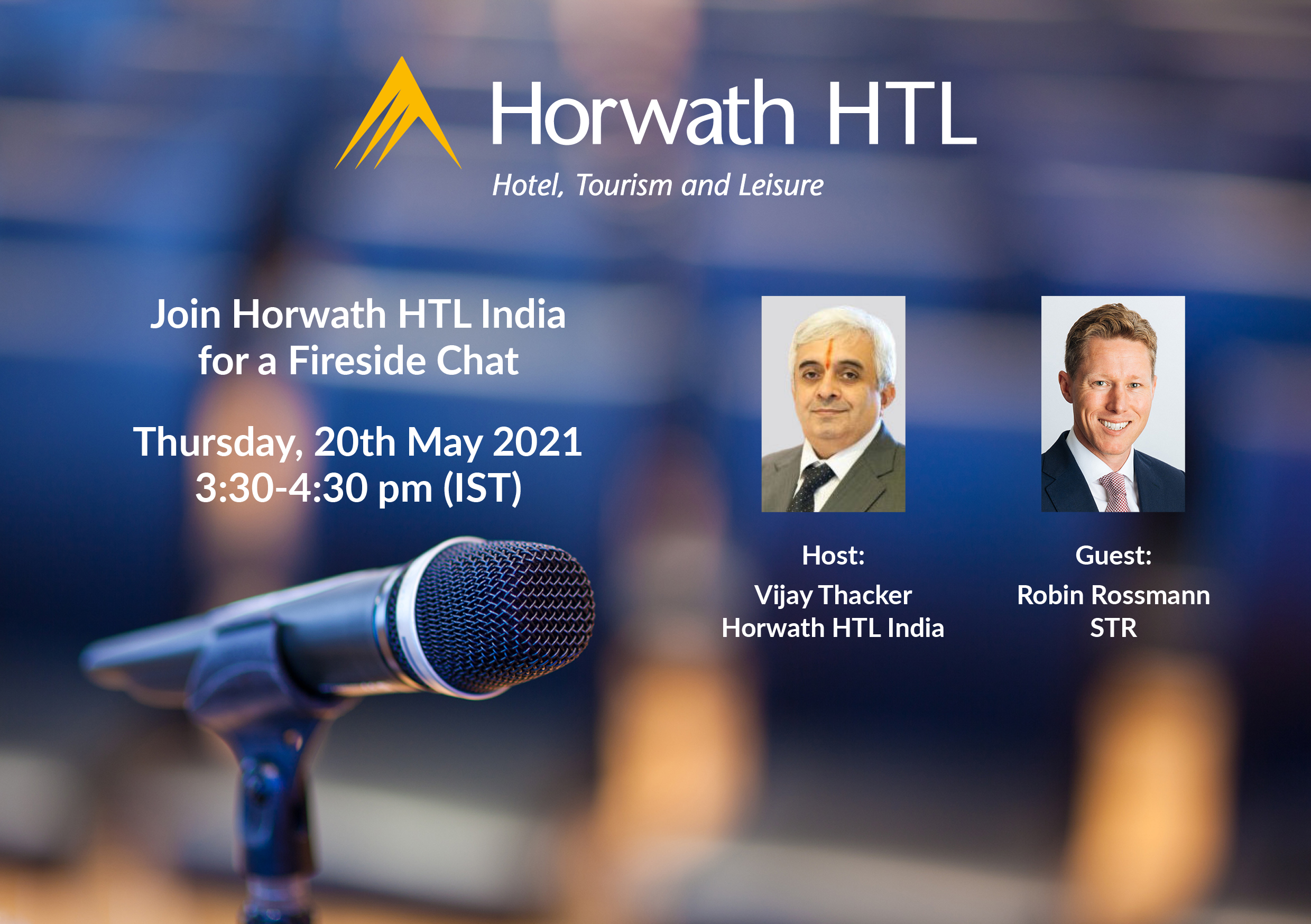 Horwath HTL India: A Fireside Chat with Robin Rossmann