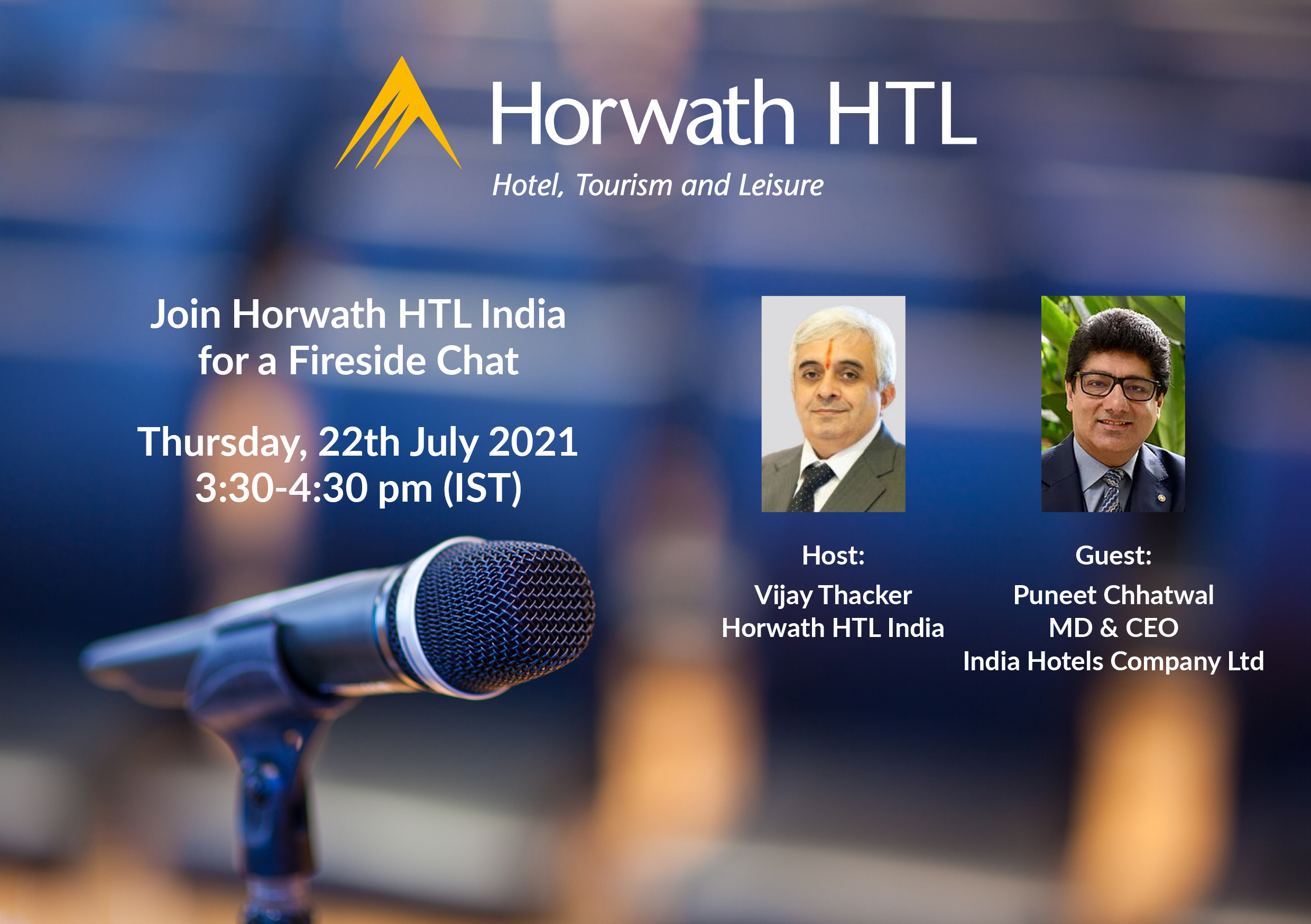 Fireside Chat with Puneet Chhatwal