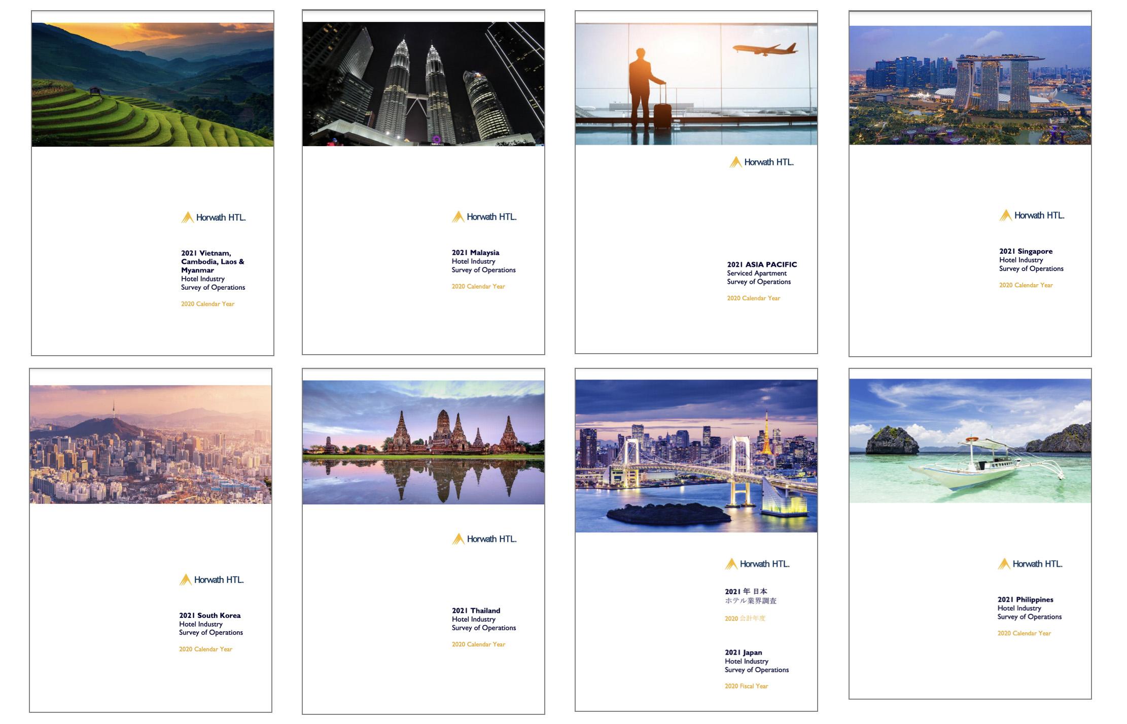 2021 Horwath HTL Asia Pacific Hotel & Serviced Apartment Surveys